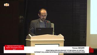 FATİH ETZ 2017: Yunus GEÇER - Öğretmenlerin Bilgisayar Tutumlarına ve Eğitsel İnter... izle