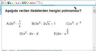 Polinomun Tanımı Ve Temel Kavramları - Kurs - 1 izle