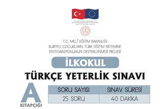 Türkçe Yeterlik Sınavı - 3