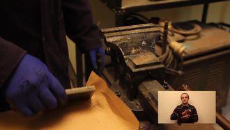 samsun özel eğitim meslek lisesi metal teknolojisi alanı temel metal şekillendirme der... izle