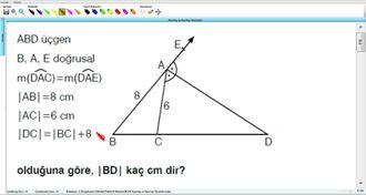 Açıortay Ve Açıortay Teoremleri 13 izle