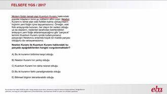 Paradigma (2017 YGS- Felsefe) izle