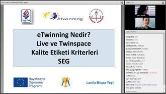 eTwinning nedir_ Live ve Twinspace kullanımı, Kalite etiketleri, SEG Eğitimi izle