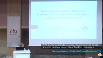 FATİH ETZ 2016:   Prof. Dr. Sufiana Khatoon Malik - Dean Faculty of Social Sciences Natio... izle