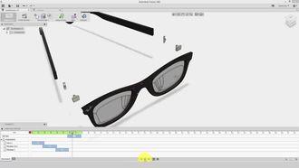 Fusion 360 Eğitimi - 50 Keyframe Mantığı ve Transform Components ile Animasyon izle