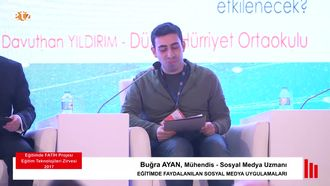 FATİH ETZ 2017 : Buğra AYAN - Medya Paneli izle