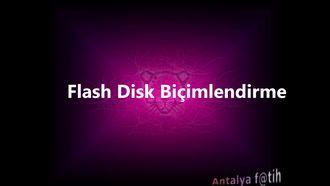 Pardus Etap Flash Disk Biçimlendirme izle