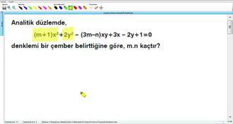 Çemberin Genel Ve Parametrik Denklemleri 12 - EBA BİLİŞİM ORHAN BEY izle