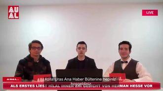 ATİLLA URAS ANADOLU LİSESİ ALMANCA HABER BÜLTENİ-Nachrichten Show izle
