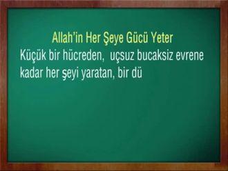 Allah İnancı 3 izle