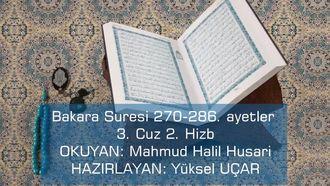 Bakara Suresi 270-286 izle