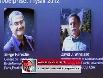 Nobel Fizik Ödülü Verildi (09.10.2012) izle