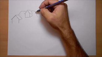 Karakalem Manzara Çizim Videosu - Gölgelendirme ve Tonlama izle