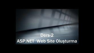 Ders-2 ASP.NET Web Site Oluşturma izle