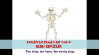 iskelet dansı izle