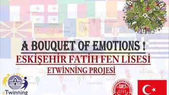 Eskişehir Fatih Fen Lisesi 2017-2018 E-Twinning Projesi ''A Bouquet of Emotions'' izle