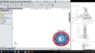 Bilgisayar destekli çizim, SolidWORKS ta basit çizim uygulamaları izle