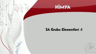 3A Grubu Elementleri - 1 izle