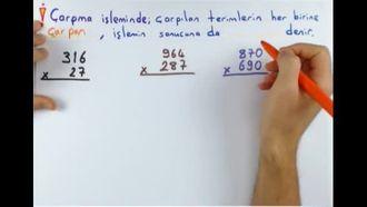 5. Sınıf Matematik Doğal Sayılarla Çarpma-Bölme izle