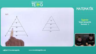 Temel Benzerlik Teoremi -2 izle