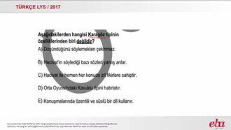 Geleneksel Türk Tiyatrosu (LYS 2017- TÜRK DİLİ VE EDEBİYATI) izle