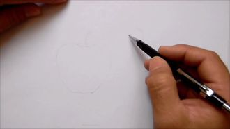 Natürmort Meyve Çizimi - Kuruboya Renk Karışımları izle