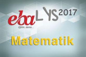 2017 LYS - Matematik izle