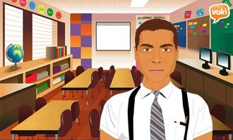 Introducing yourself via Voki izle