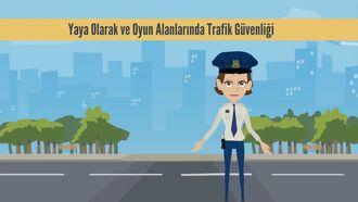 TRAFİK GÜVENLİĞİ VE TRAFİK İŞARETLERİ (Güvenli yürüyüş -Kaldırımda güvenl... izle