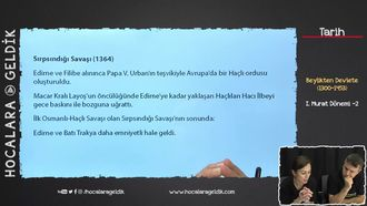 I. Murat Dönemi -2 izle