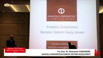 FATİH ETZ 2017: Yrd. Doç. Dr. Abdulkadir KARADENİZ - ANADOLU ÜNİVERSİTESİ KAMPÜS S... izle