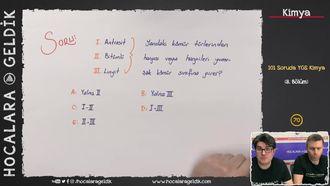 101 Soruda YGS Kimya 8.Bölüm izle