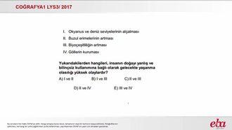 Doğal Kaynakların Küresel Etkileri (2017 LYS3-Coğrafya1) izle