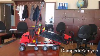 STEM Projelerimiz - Damperli Kamyon - Yahyalı Yatılı Bölge Ortaokulu izle