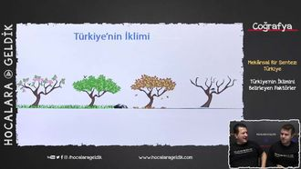 Türkiye'nin İklimini Belirleyen Faktörler izle