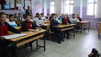 Çokgenler Şarkısı, Oğuzeli Atatürk Ortaokulu 5/B Sınıfı izle
