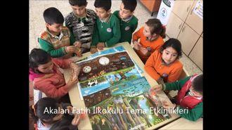 Akalan Fatih İlkokulu'nda Minik Tema ve Yavru Tema etkinlikleri izle