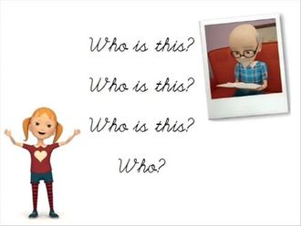 Grade 3 SONG - Who is this? izle