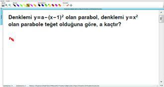 Parabolün Grafiğinin Çizimi Ve Doğru İle Parabolün Ve İki Parabolün Durumları 17 ... izle