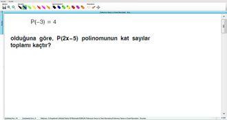 Polinomun Tanımı Ve Temel Kavramları - Kurs - 11 izle