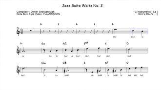 Melodika & Blok Flüt için - Jazz Waltz No:2 izle