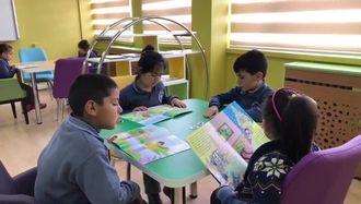 Aksaray Hacı Cumali Uğur İlkokulu Kütüphanesi Açıldı izle