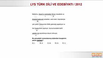 2012 / LYS DİL BİLGİSİ / YAZIM YANLIŞLARI izle