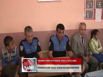 Edirne Emniyet Müdürlüğü Ekipleri, Öğrencileri Suça Karşı Bilgilendiriyor (09.10... izle