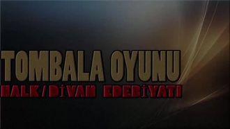 """SANAL GERÇEKÇİLİK FARKIYLA 3D EDEBİYAT:""""HALK-DİVAN EDEBİYATI YAZAR-ESER TOMBALA OYU... izle"""