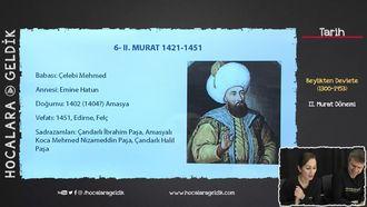 II.Murat Dönemi izle