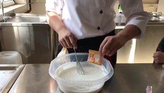 öğrencilerden vanilyalı dondurma tarifi izle