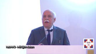 Açılış Konuşması; Nabi AVCI - Milli Eğitim Bakanı izle