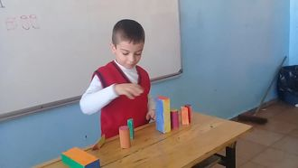 Geometrik Cisimlerle Örüntü izle