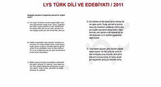 2011/LYS   METNİN ANLAM ÖZELLİKLERİ izle